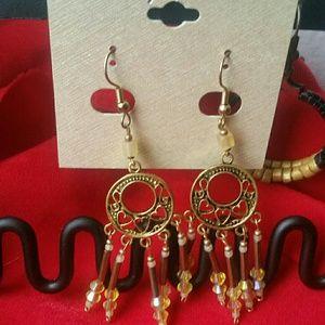 Jewelry - Handcrafted Fringe Earrings